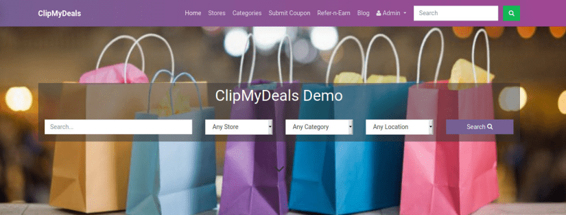 ClipMyDeals Homepage Banner
